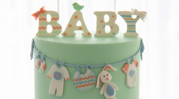 Different types of baby shower cakes